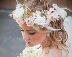 Hawaiian Flower Crown by Bohobeautyca on Etsy