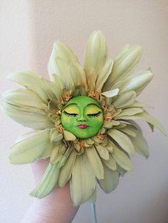 Alice in Wonderland Flower by CreartiveStudios on Etsy