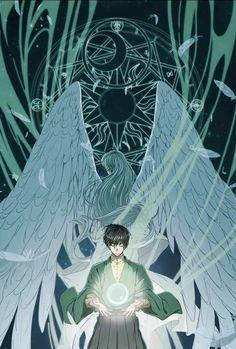Que lindo fue Touya al dar su poder a Yue ✨