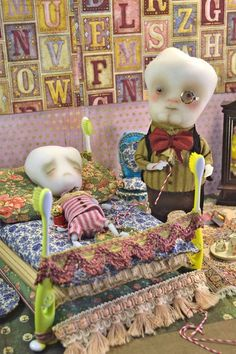 """Dentaltown - Do you like """"Tilo the decayed tooth boy and Dr. Calcium"""" by Sandra Arteaga or do you think it is kind of creepy?"""