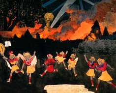 Henry Darger,  classed as an outsider is in my opinion one of the best artists of all time, and very influential.