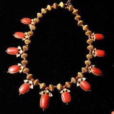 Coral Jewellery collection at Jewel Kishore showroom. Photo: R. Shivaji Rao