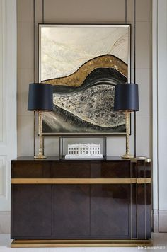 "Abstract Oil Painting ,Abstract Painting,Oil Painting ""Mountain wave"", Modern Art,Gold Panting Large Wall Art by Julia Kotenko by juliakotenko on Etsy"
