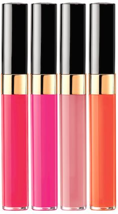 Can someone buy these for me? CHANEL Glossimers from the Summer 2014 Collection #makeup #gloss