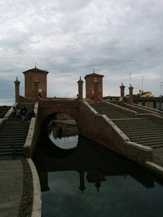 Comacchio in Ferrara, Emilia-Romagna
