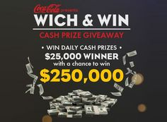 Enter to win grand prize worth $25000 or daily prize worth $25.  #Sweepstakes #Cash #Win #Big #Daily #Big