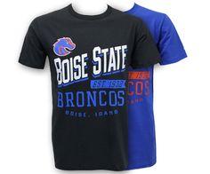 Tee Santo Boise State Slant Broncos | Boise State Bronco Shop