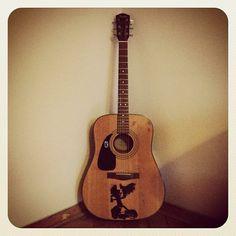 Left handed Fender acoustic
