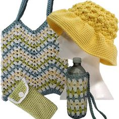 Picture of Seaside Collection Crochet Pattern