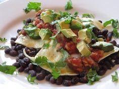 Huevos Rancheros w/ Black Beans