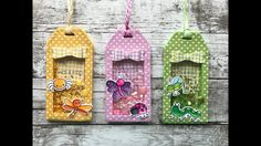 Summer Bitty Bugs Shaker Tags - Your Next Stamp (Stamp, Create, Repeat) Atc Cards, Card Tags, Gift Tags, Mason Jar Cards, Shake Shake, Interactive Cards, Pocket Letters, Shaker Cards, Paper Tags