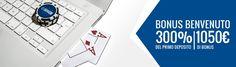 SNAI POKER: BONUS DI BENVENUTO SINO A 1050 €! https://www.snai.it/promozioni/poker/bonus-benvenuto-1050-euro #SNAI #Poker #Pokeronline #Bonus #CodicePromo