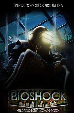 Art Nouveau/Deco + gaming + epic story line = Bioshock