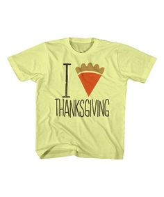 Look what I found on #zulily! Banana 'I Pie Thanksgiving' Tee - Toddler & Kids #zulilyfinds