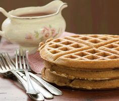 Buckwheat & Oat Waffles from Alexa CroftThese gluten free vegan buckwheat and oat waffles from Alexa Croft's book Everyday Classics are delicious!
