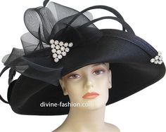 Women s formal dressy church and derby hats 96d94865434