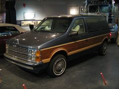 1986 Dodge Caravan... Sweet wood paneling
