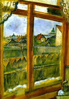View from a Window (Vitebsk) Marc Chagall
