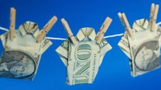 Thieves launder money by crowdfunding themselves.