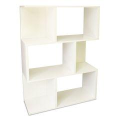 "zBoard Storage Madison 45"" Accent Shelves Bookcase"