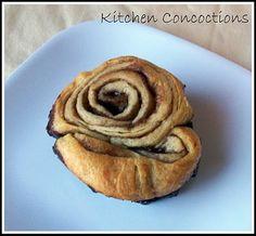 Chocolate Cinnamon Rolls #breakfast #recipe #chocolate