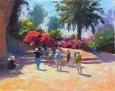 At Gideon Springs in Israel Impressionist Art, Art Oil, Israel, Artist, Painting, Artists, Painting Art, Paintings, Painted Canvas