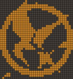 Mockingjay hunger games pattern added by brianna