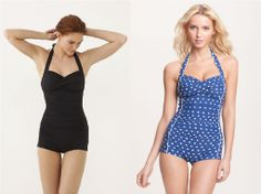 this blog has found the cutest one piece swim suits !