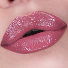 nyx slip tease lip lacquer in strawberry whip Lip Gloss Colors, Pink Lip Gloss, Lip Colors, Hot Pink Lipsticks, Best Lipsticks, Lipstick Shades, Lipstick Colors, Lip Lacquer, Kissable Lips