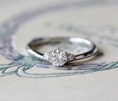 ダイヤモンドのエンゲージリング:ティアラ Pt900,ダイヤモンド [婚約指輪,wedding,engagement ring,]