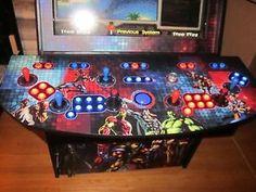 4 Player Custom Video Arcade Control Panel Mame TM | eBay
