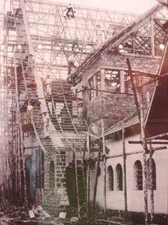 Construção da estação Ferroviária Hoje, Museu Histórico