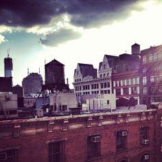 We SoHo #nyc #newyork #skyline