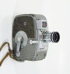 Vintage 8mm Movie Camera.