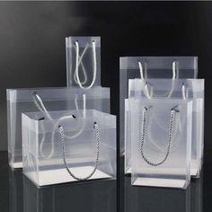 Gift Box For Men, Gift Baskets For Women, Paper Bag Design, Flower Box Gift, Cheap Gift Bags, Diy Lip Gloss, Paper Flower Decor, Transparent Bag, Shops
