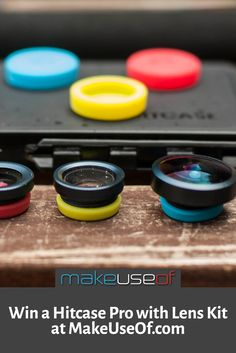 Enter to win a Hitcase Pro and Lens Kit from MakeUseOf.com