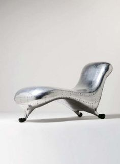 Marc newson on pinterest wicker chairs wooden chairs for Chaise longue lockheed lounge