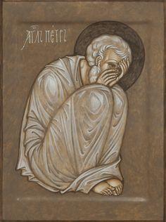 Christian Drawings, Christian Art, Byzantine Icons, Byzantine Art, Religious Icons, Religious Art, Monastery Icons, Moise, Christ