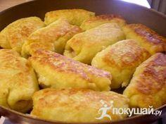 Картофельные рулетики с мясом / рецепт с фото