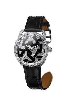 Hermès lança jóia em forma de relógio inspirado na arte japonesa