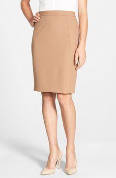 Seamed Pencil Skirt (Regular & Petite)
