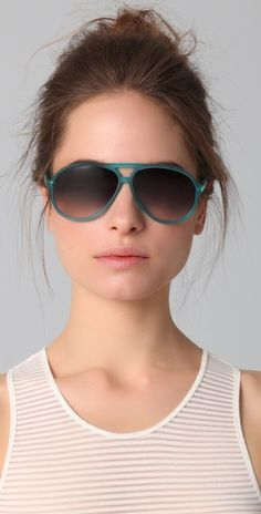 great color - matthew williamson sunglasses