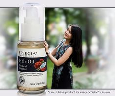 Freecia Professional Coconut Oil Frizz Control Hair Serum With Natural Ingredients For Anti Frizz Hair - Smoothing All Hair Types For Frizzy Hair - Silk Serum Split End Protection Therapy 1.69 Ounces >>> For more information, visit image link. #hairupdos