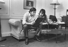 Keith Moon and Bill Graham