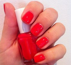 Essie Too Too Hot - Currently wearing this!