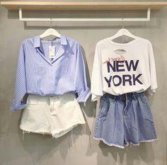 @querinay Cute Fashion, Teen Fashion, Fashion Outfits, Womens Fashion, Twin Outfits, Dance Outfits, Pretty Outfits, Cool Outfits, Casual Outfits