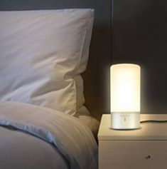 LiliLite reading lamp: the ultimate bed lamp for readers. A bookshelf, reading light and bookmark combined into one smart product. The book sensor turns the light on or off automatically. Touch Table Lamps, Touch Lamp, Pottery Barn, Chelsea, Book Lamp, Nightstand Lamp, Bedside Lighting, Desk Light, Lamp Light