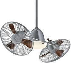 "dual headed fan ceiling Minka Aire Gyro 41"""