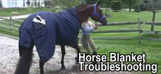 Horse Blanket Troubleshooting. How to fix your horse blanket!