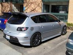 2007-09 Mazda 3 Hatch Rear Flares